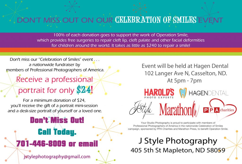 Celebration of smiles - J Style Photography - Fargo, ND