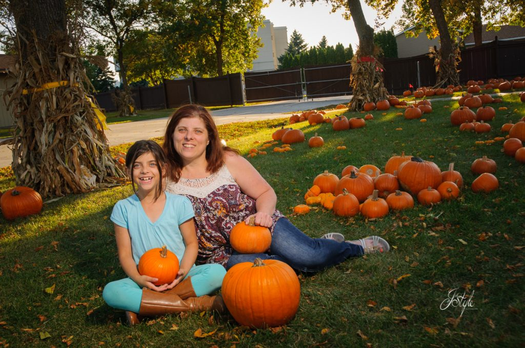 Portraits in the pumpkins -rheault farm fargo